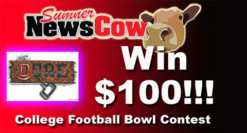 College football $100 contest