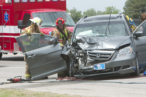 Two Car Accident Out At Wellington Walmart Saturday