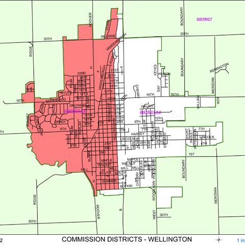 Commission Districts (Wellington) 2012