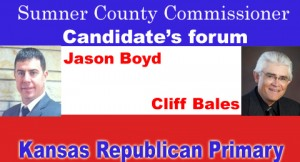 Kansas Commissioner Candidate's forum