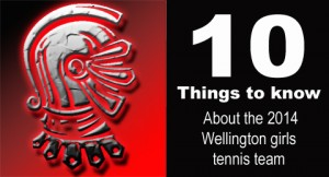 10 things to know about the tennis team