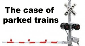 Case of railroad crossing