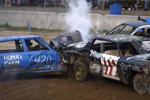 Demolition Derby in Caldwell