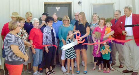 Ribbon cutting held at Simply Elite Dance Studio.