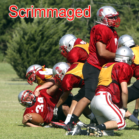 WHS first scrimmage