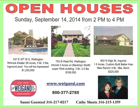J.P. Weigand open house