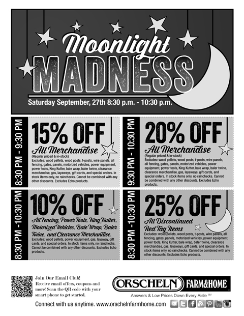 Orsheln's midnight madness