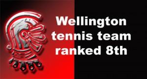 Tennis team ranked eighth