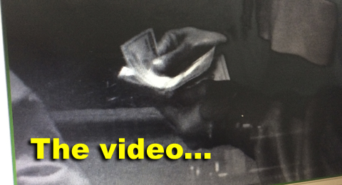The video feature of theft