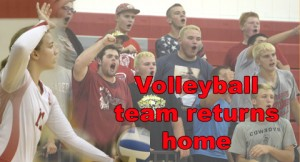 Volleyball returns home