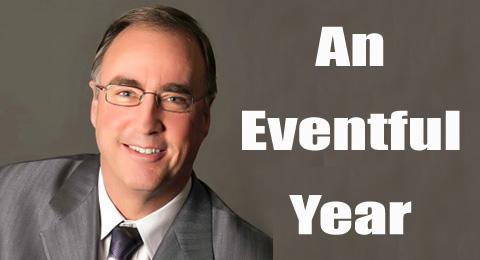 An eventful year Roy Eckert
