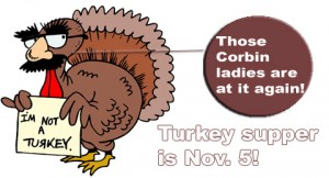 Corbin Turkey supper