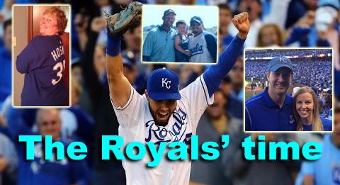 Kansas City Royals fan story