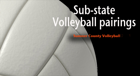 Substate volleyball pairings 2014