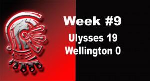 Week #9 score