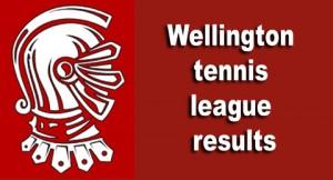 Wellington tennis league results 10-7-14