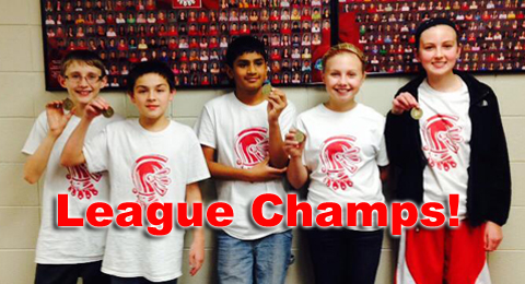 7th grade league champs feature
