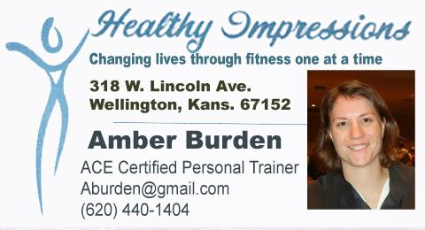 Amber Burden personal trainer