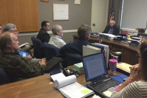 Earthquakes were a topic of conversation at Tuesday's Sumner County Commissioner meeting.