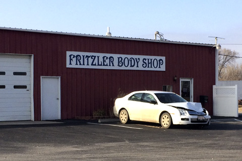 Fritzler Auto Shop closes door this week.