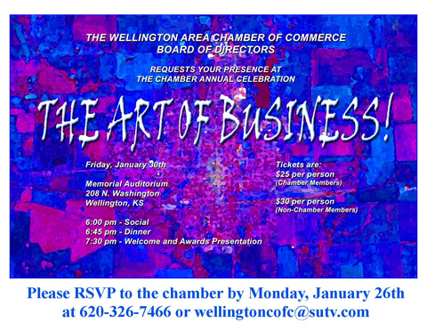 2015 Annual Celebrationinvite art of business