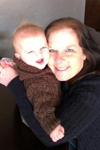 Donna Michele Raschke - with grandson.