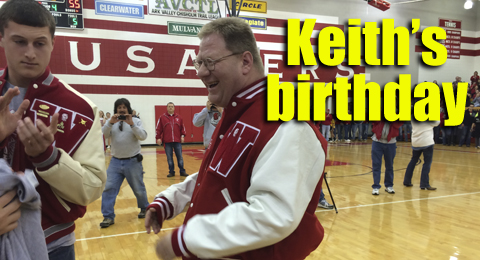 Keith's birthday