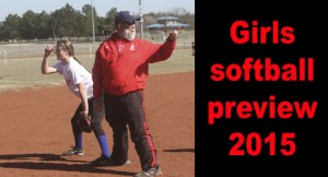 WHS girls softball preview 2015