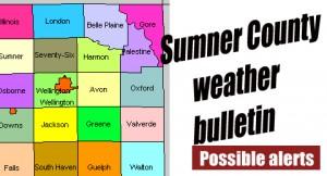 Sumner County Weather bulletin possible alert