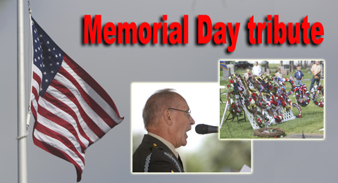 Memorial Day tribute feature