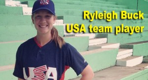 Rylee Buck USA baseball team player