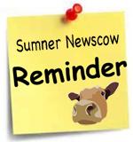 Sumner Newscow reminder