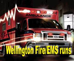 Wellington EMS Fire Ambulance log
