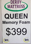Locally owned Derby Mattress will help you with your