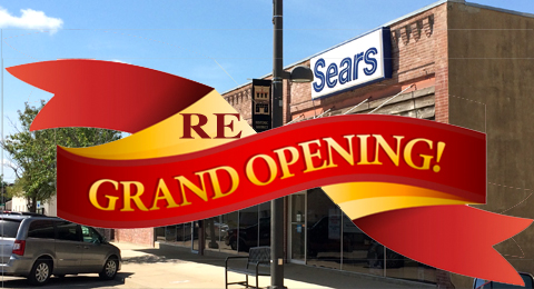 Sears Re-Grand opening