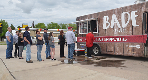 "Fundraiser was held by BADE Truck to help raise money for the family of  Kanyian ""Tater"" Armenta."