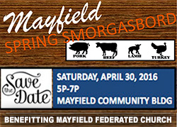 Mayfield Smorgasbord