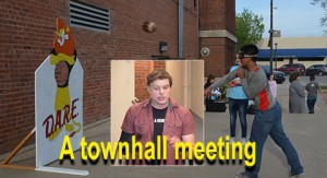 Townhall meeting forum