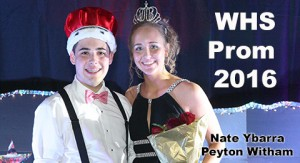 WHS prom Lord and Lady