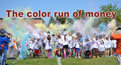 Eisenhower color run feature