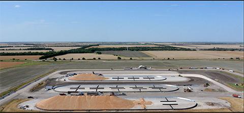 Milan grain facility