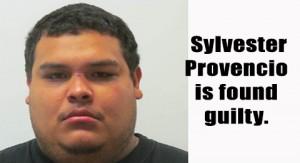 Sylvester Provencio found guilty