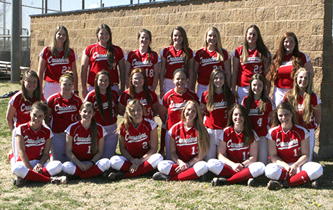 WHS girls softball team 2016.
