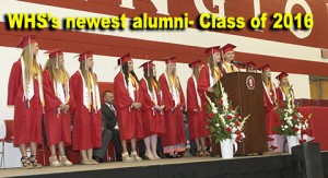 WHS newest alumni