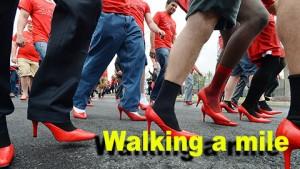 Walking a mile