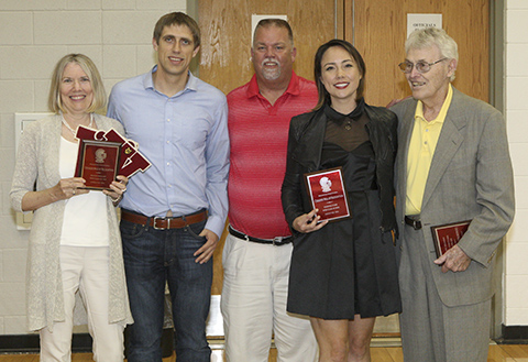 Wall of Recognition recipients group