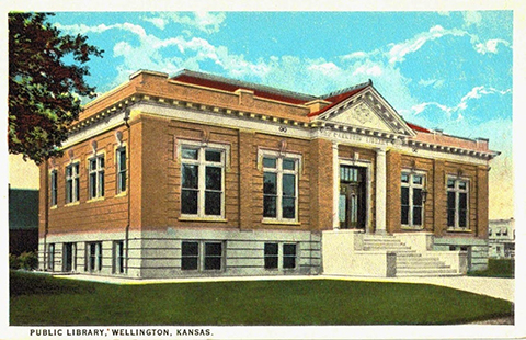 The way the public library looked in the early part of the 20th Century.