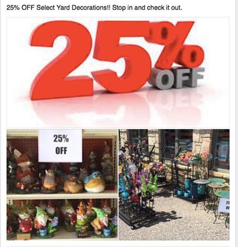 25 percent off - Mill Creek