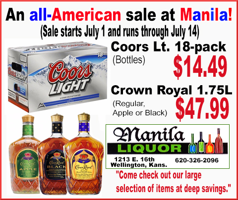 Manila Liquor All American sale
