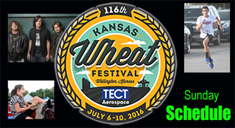 2016 Kansas Wheat Festival Sunday Schedule Final Day Sumner Newscow